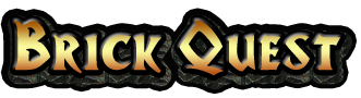 BrickQuest Fantasy Boardgame Logo